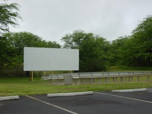 Walk-in Outdoor Movie Theater at PMRF.