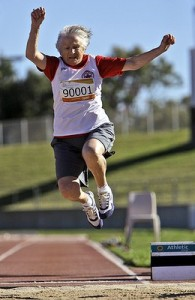 The World's Oldest Long Jumper