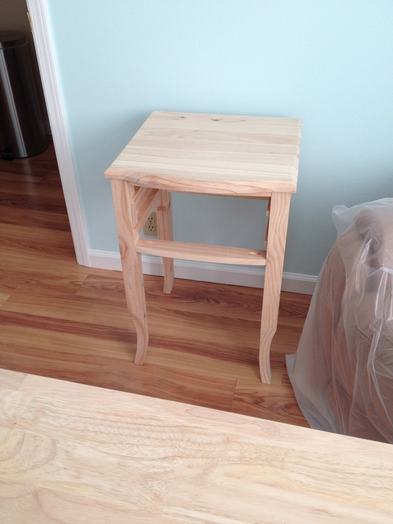Side table, before refinishing