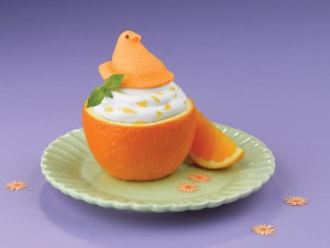 PEEPS Chantilly Cream Filled Oranges