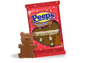 PEEPS chocolate mousse bear