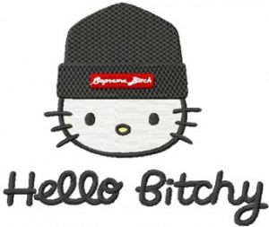 Bitch Kitty Mascot 3 Hello Bitchy