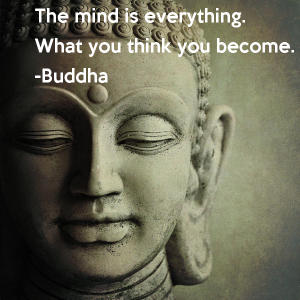 Buddha Quote What you think you become